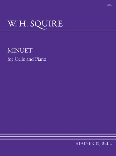 Squire, William Henry: Minuet For Cello And Piano