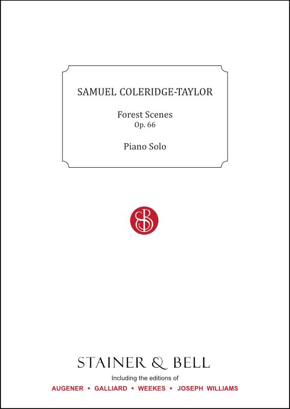 Coleridge-Taylor, Samuel: Forest Scenes, Op. 66. Piano Solo