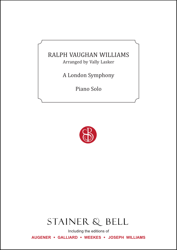 Vaughan Williams, Ralph: London Symphony, A. Arr. Piano Solo