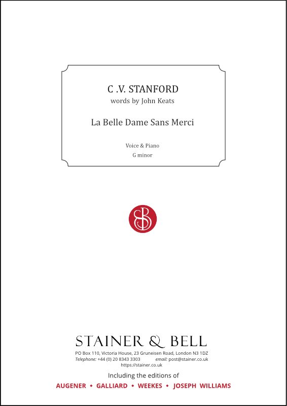 Stanford, Charles V: La Belle Dame Sans Merci. G Minor (DOWNLOAD)