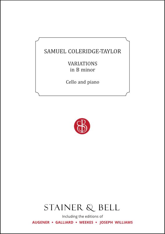 Coleridge-Taylor, Samuel: Variations In B Minor