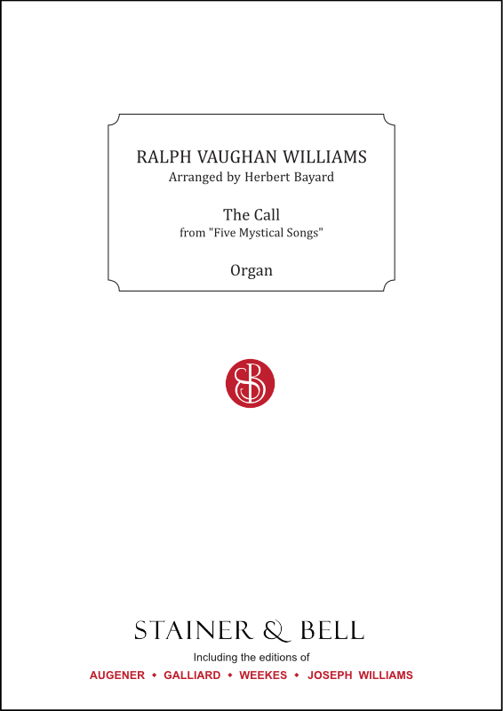 Vaughan Williams, Ralph: Call, The. Arr. For Organ