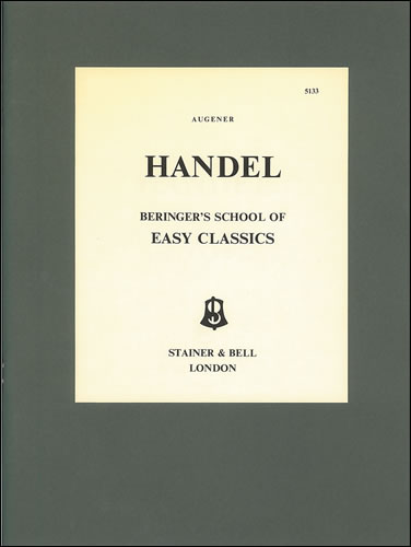 Handel, George Frideric: Easy Pieces