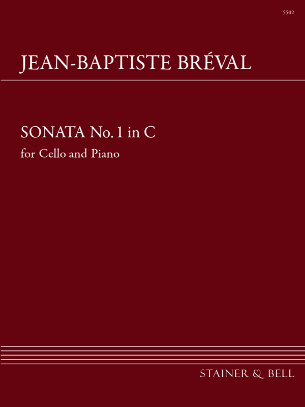 Breval, Jean Baptiste: Sonata In C For Cello And Piano