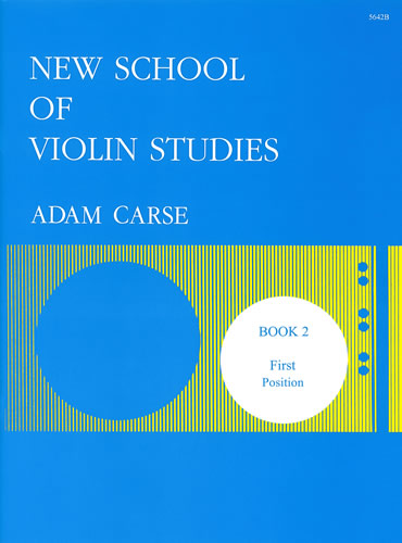 Carse, Adam: New School Of Violin Studies. Book 2