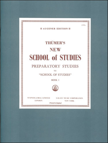 Thümer, Otto: New School Of Studies. Preparatory Book 1