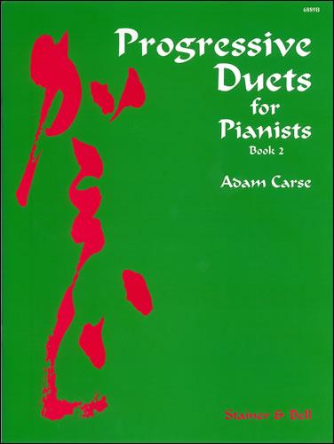 Carse, Adam: Progressive Duets For Pianists. Book 2