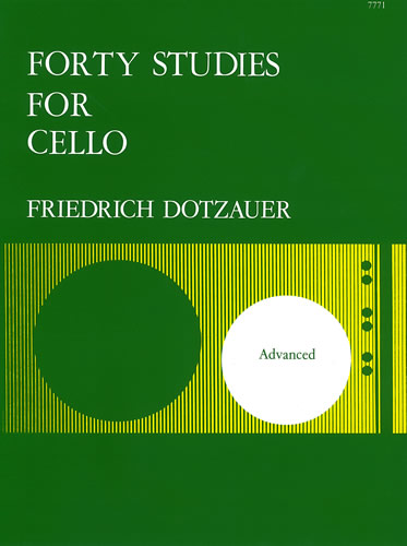 Dotzauer, Friedrich: Forty Studies