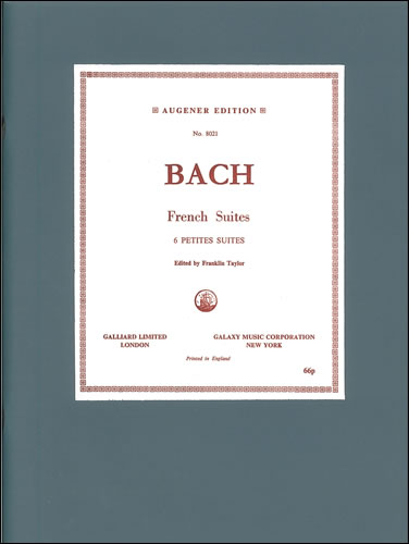 Bach, Johann Sebastian: Suites, The Six French. BWV 812-817