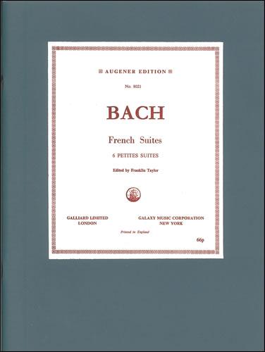 Bach, Johann Sebastian: Suites, The Six French. BWV 812-817
