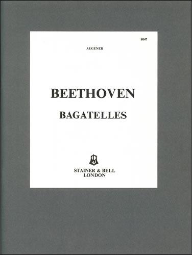 Beethoven, Ludwig Van: Bagatelles, Complete