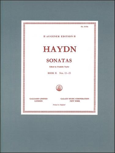 Haydn, Joseph: The Sonatas. Book 2: Nos. 12 To 23