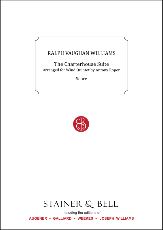 Vaughan Williams, Ralph: Charterhouse Suite, The. Arr. Wind Quintet