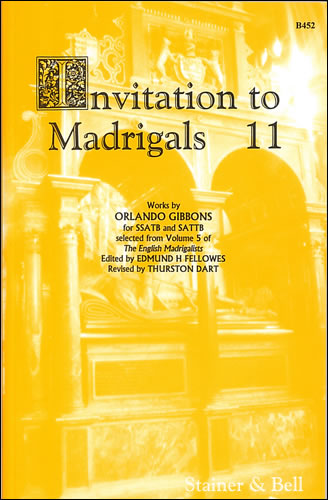 Invitation To Madrigals Book 11