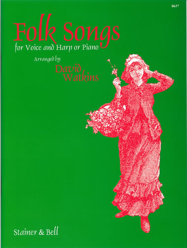 Folk Songs For Voice And Harp (or Piano)