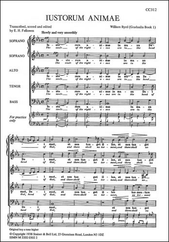 Byrd, William: Justorum Animae (Souls Of The Righteous)