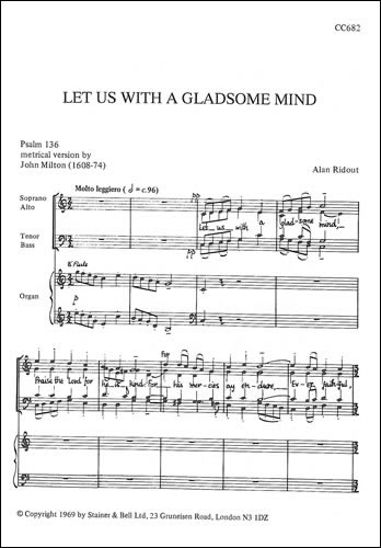 Ridout, Alan: Let Us With A Gladsome Mind