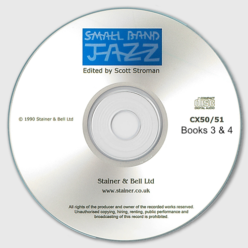Small Band Jazz. CD – Books 3 And 4