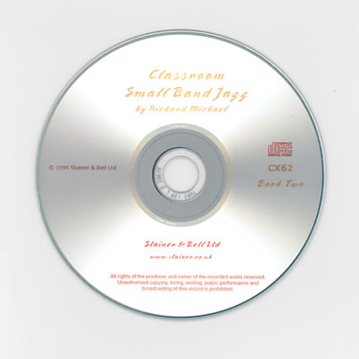 Michael, Richard: Classroom Small Band Jazz. Book 2. Backing CD