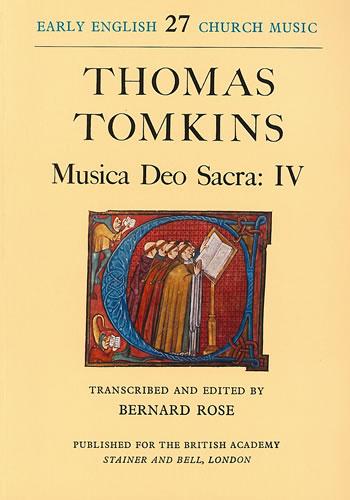 Tomkins, Thomas: Musica Deo Sacra: IV