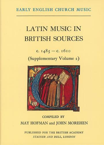 Latin Music In British Sources C.1485-c.1610