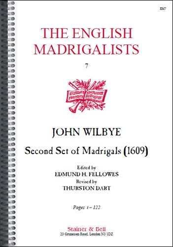 Wilbye, John: Second Set Of Madrigals (1609)