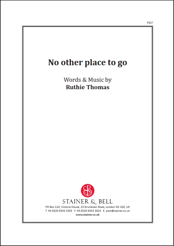 Thomas, Ruthie: No Other Place To Go. PDF File
