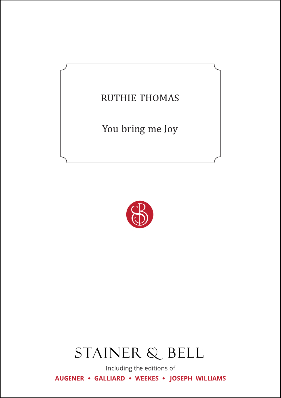 Thomas, Ruthie: You Bring Me Joy. PDF File