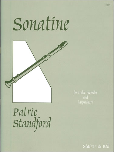Standford, Patric: Sonatine For Treble Recorder With Harpsichord Or Piano