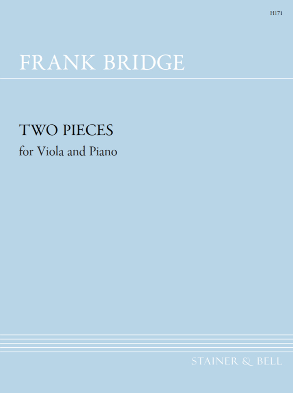 Bridge, Frank: Two Pieces For Viola And Piano