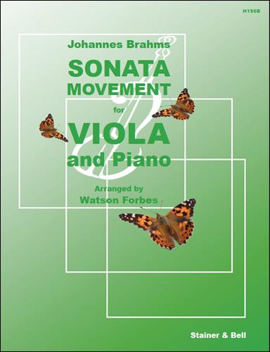 Brahms, Johannes: Sonata Movement (Sonatensatz, 1853)