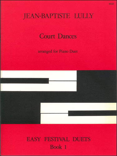Lully, Jean Baptiste: Court Dances. Arr Piano Duet