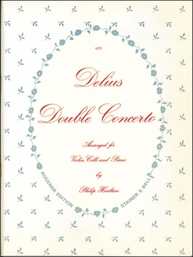Delius, Frederick: Double Concerto Trans. Violin, Cello And Piano