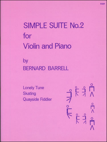 Barrell, Bernard: Simple Suite No.2 For Violin And Piano