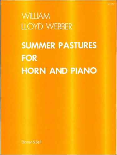 Lloyd Webber, William: Summer Pastures For Horn And Piano