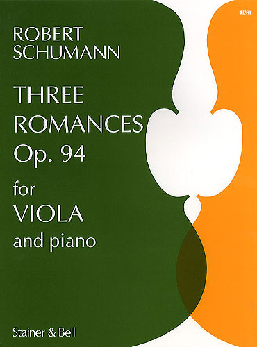 Schumann, Robert: Three Romances Op. 94 For Viola And Piano