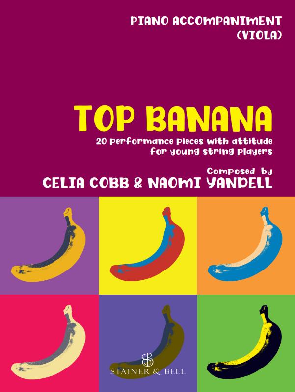 Top Banana:  Piano Part To Accompany Viola