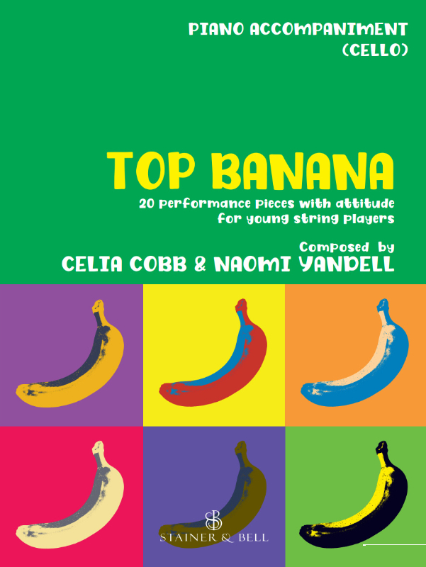 Top Banana: Piano Part To Accompany Cello
