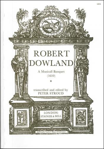 Dowland, Robert (Compiler): A Musicall Banquet