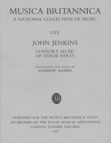 Jenkins, John: Consort Music Of Three Parts