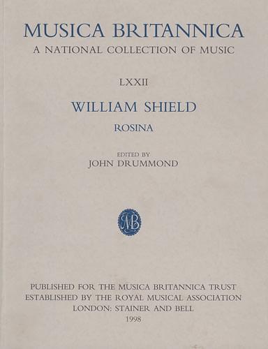 Shield, William: Rosina