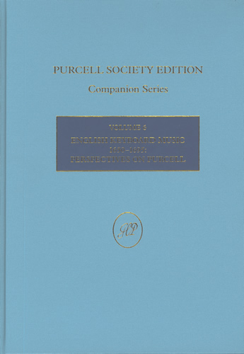 English Keyboard Music 1650–1695: Perspectives On Purcell