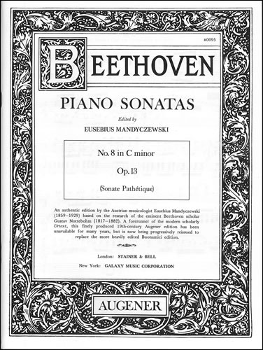 Beethoven, Ludwig Van: Sonata In C Minor, Op. 13 ('Pathétique')