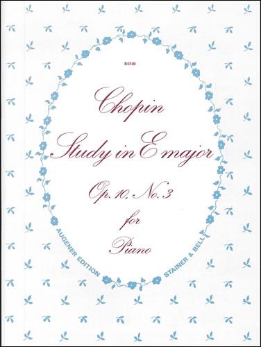 Chopin, Frédéric François: Etude In E, Op. 10, No. 3