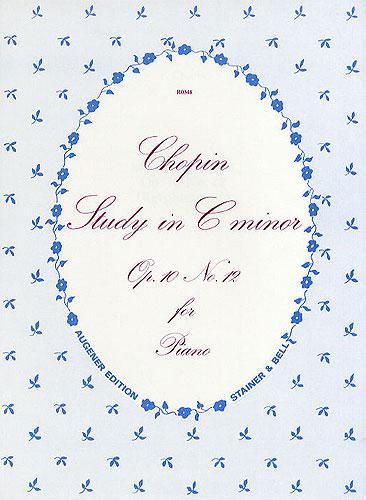 Chopin, Frédéric François: Etude In C Minor, Op. 10, No. 12 ('Revolutionary')