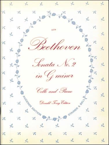 Beethoven, Ludwig Van: Sonata In G Minor, Op. 5, No. 2. Cello And Piano
