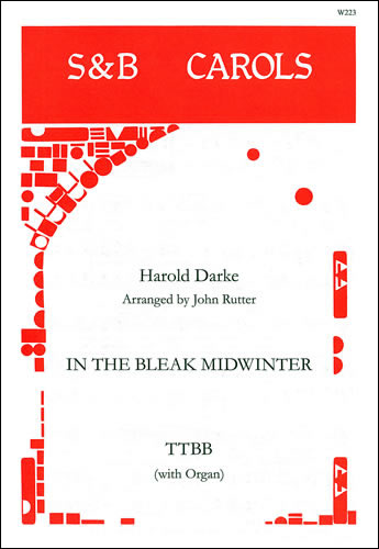 Darke, Harold: In The Bleak Midwinter. TTBB