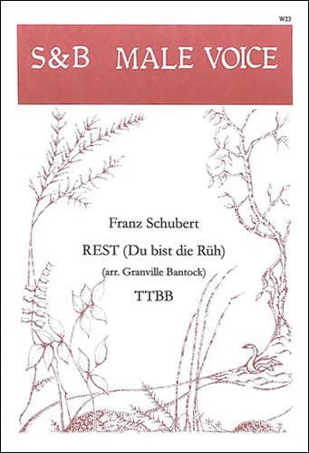 Schubert, Franz: Rest ('Du Bist Die Rüh')