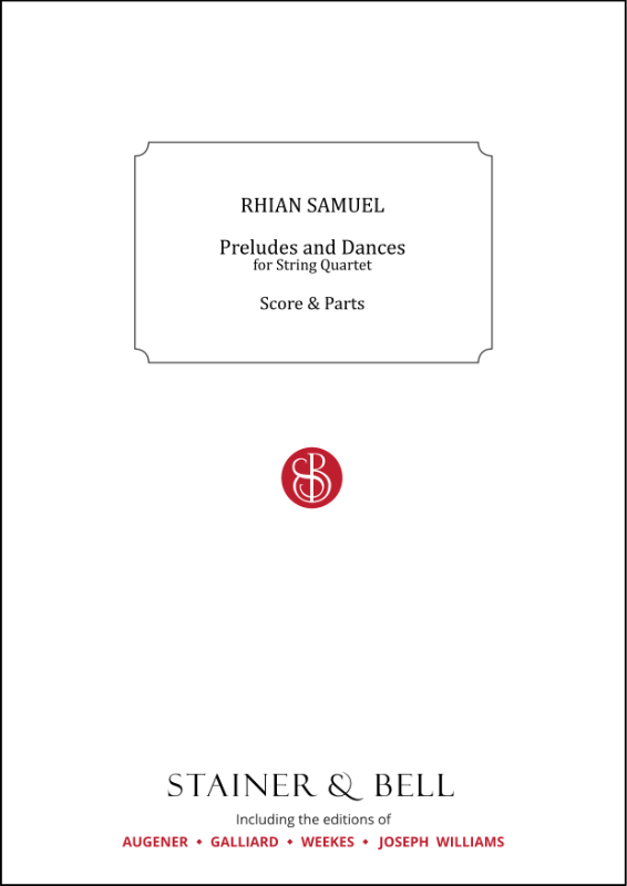 Samuel, Rhian: Preludes And Dances