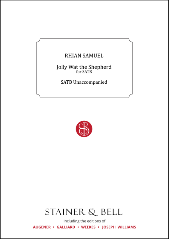 Samuel, Rhian: Jolly Wat The Shepherd